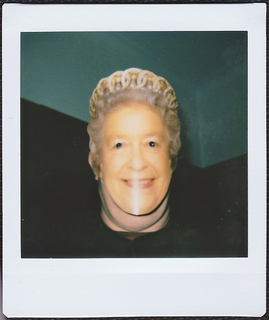 Queen Takes a Selfie