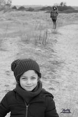 Lina sur la plage du bec d'andaine _ Mont st Michel - Photo of Champeaux