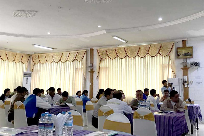 Identifying policy issues for policy making process workshop in Loikaw
