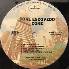 COKE ESCOVEDO:COKE(LABEL SIDE-B)