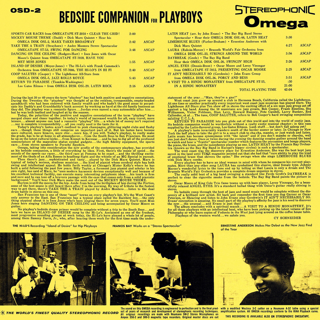 Various Artists - Bedside Companion for Playboys