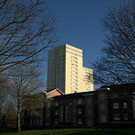 Looming towers in Preston