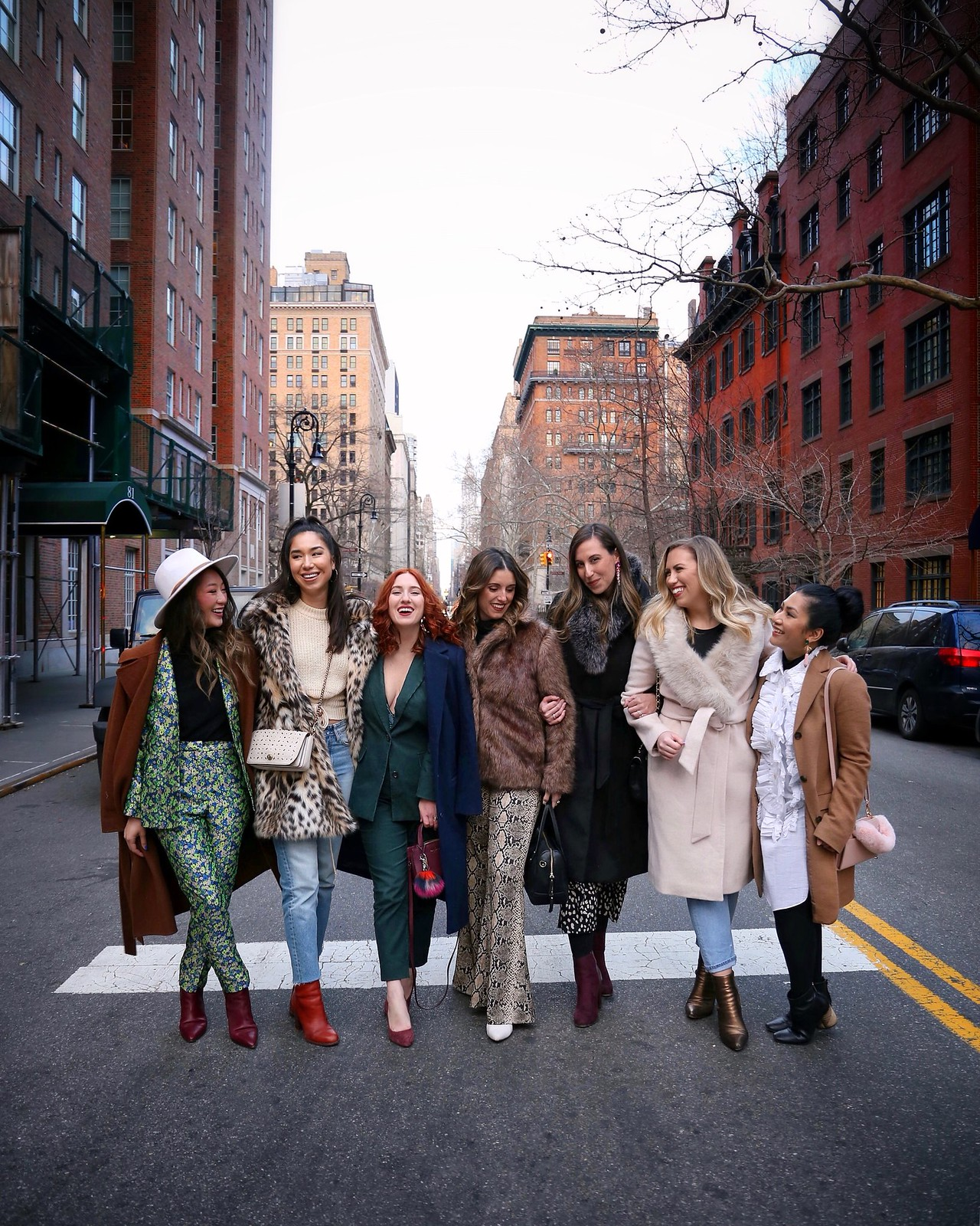 New York City NYC Street Style Blogger Besties Friends Fashion