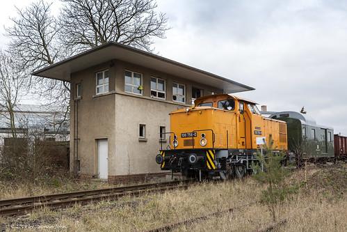 Güterzug in Aken