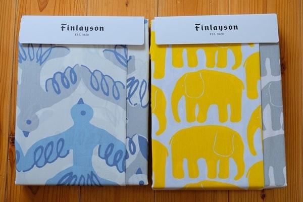 北欧ブランド フィンレイソンの布団カバー 画像
