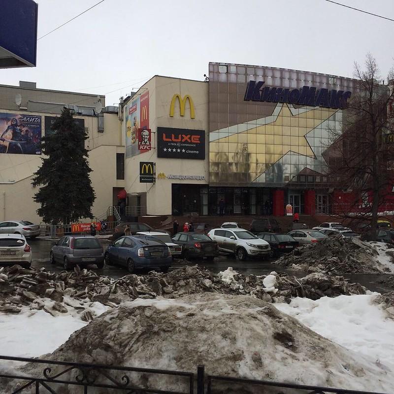 Чердачинск в марте