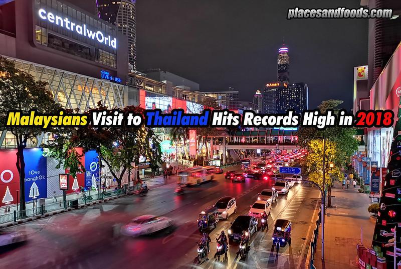 malaysians to thailand 2018