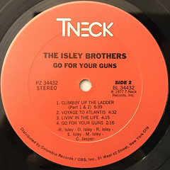 THE ISLEY BROTHERS:GO FOR YOUR GUNS(LABEL SIDE-B)
