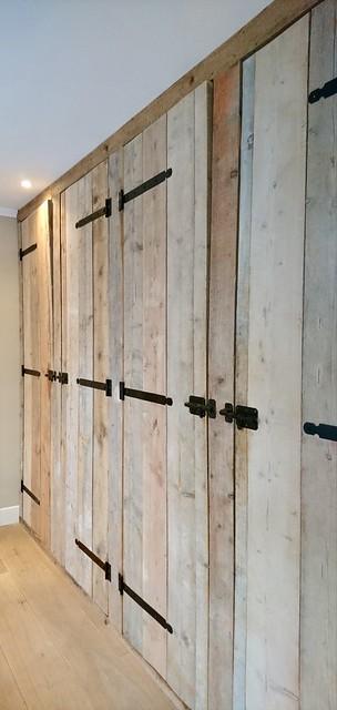 Kastenwand steigerhout