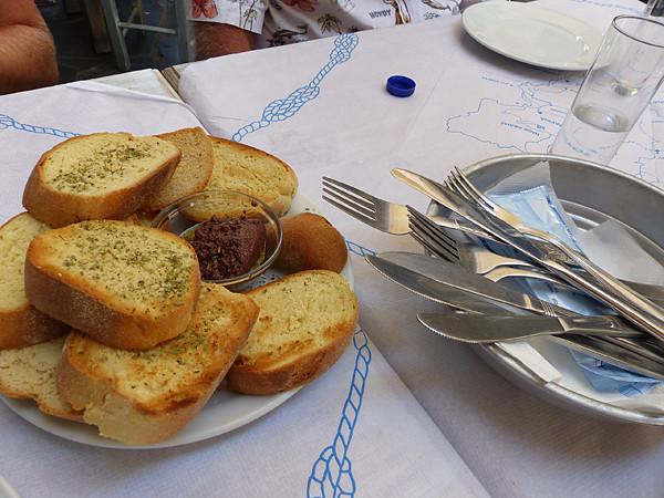 pain à l'origan