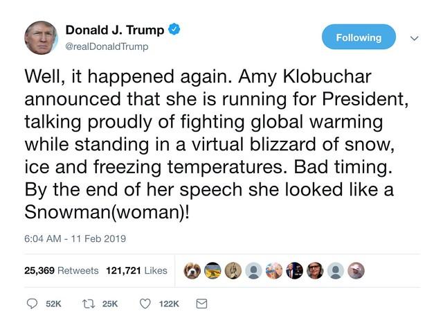 Donald vs Amy