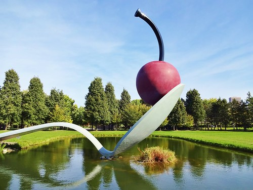 Spoonbridge and Cherry. From 5 Places to Go by Car from Chicago