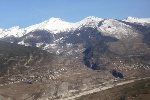Varen Leuk Rinderhorn Balmhorn Valais Switzerland