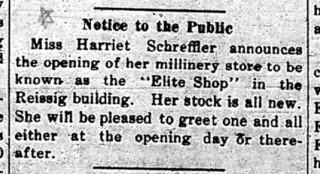2019-02-27. Schreffler, Gazette, 2-7-1919