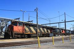 CN 2421 (C40-8M) Memphis, Tennessee