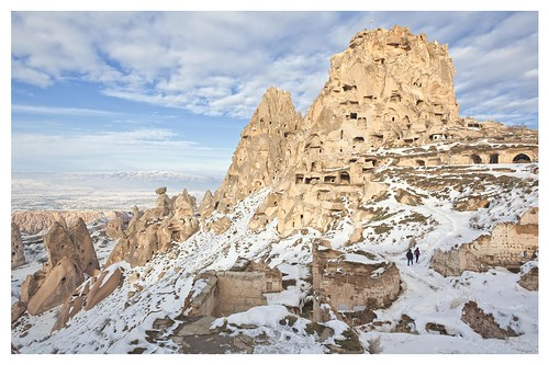 Uchisar castle, Uchisar
