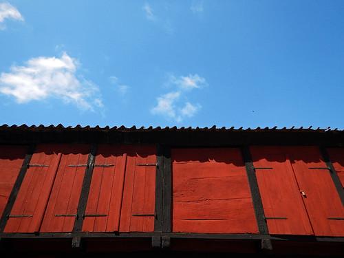 Ox Blood was used to achieve rich dark reds found in the recreated village of Den Gamle By in Aarhus, Denmark