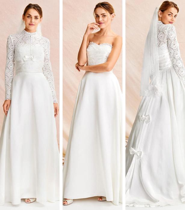 Retro Wedding Dress IMAGES