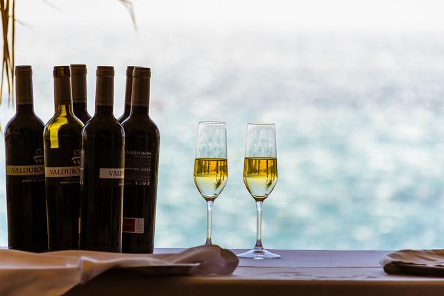 Spain - Cadiz - Tarifa - Sirocco restaurant in Bolonia Beach