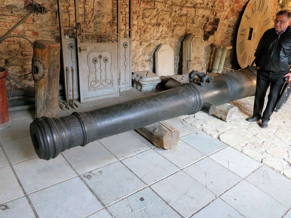 Артиллерия Домского собора
