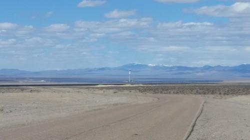 Crescent Dunes Solar Thermal Power Plant