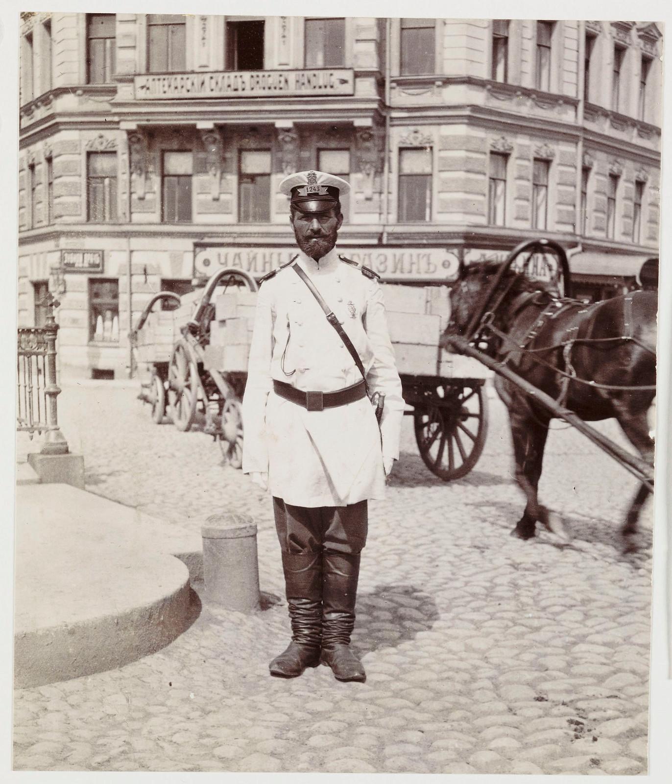 Городовой. 1905