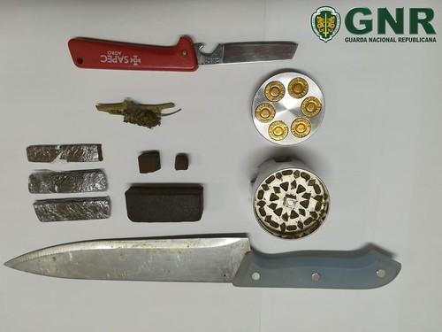 GNR Santarém - Droga apreendida