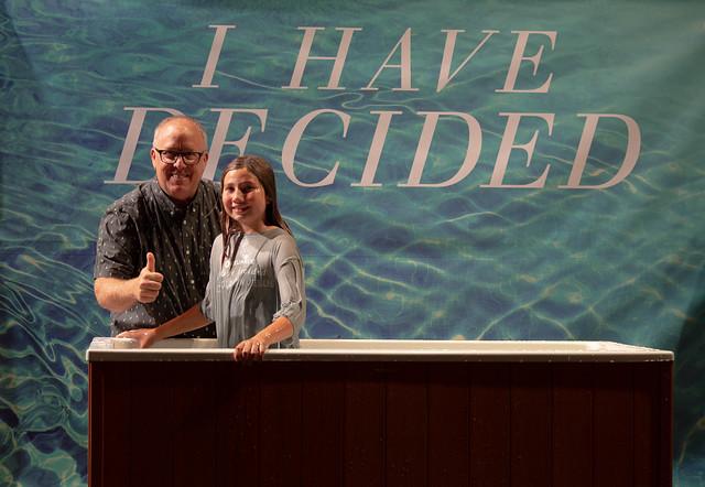 Baptism November 18th, 2018