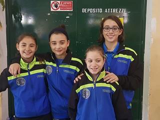 La Serie B femminile con Minurri, le sorelle Leogrande e  Misceo