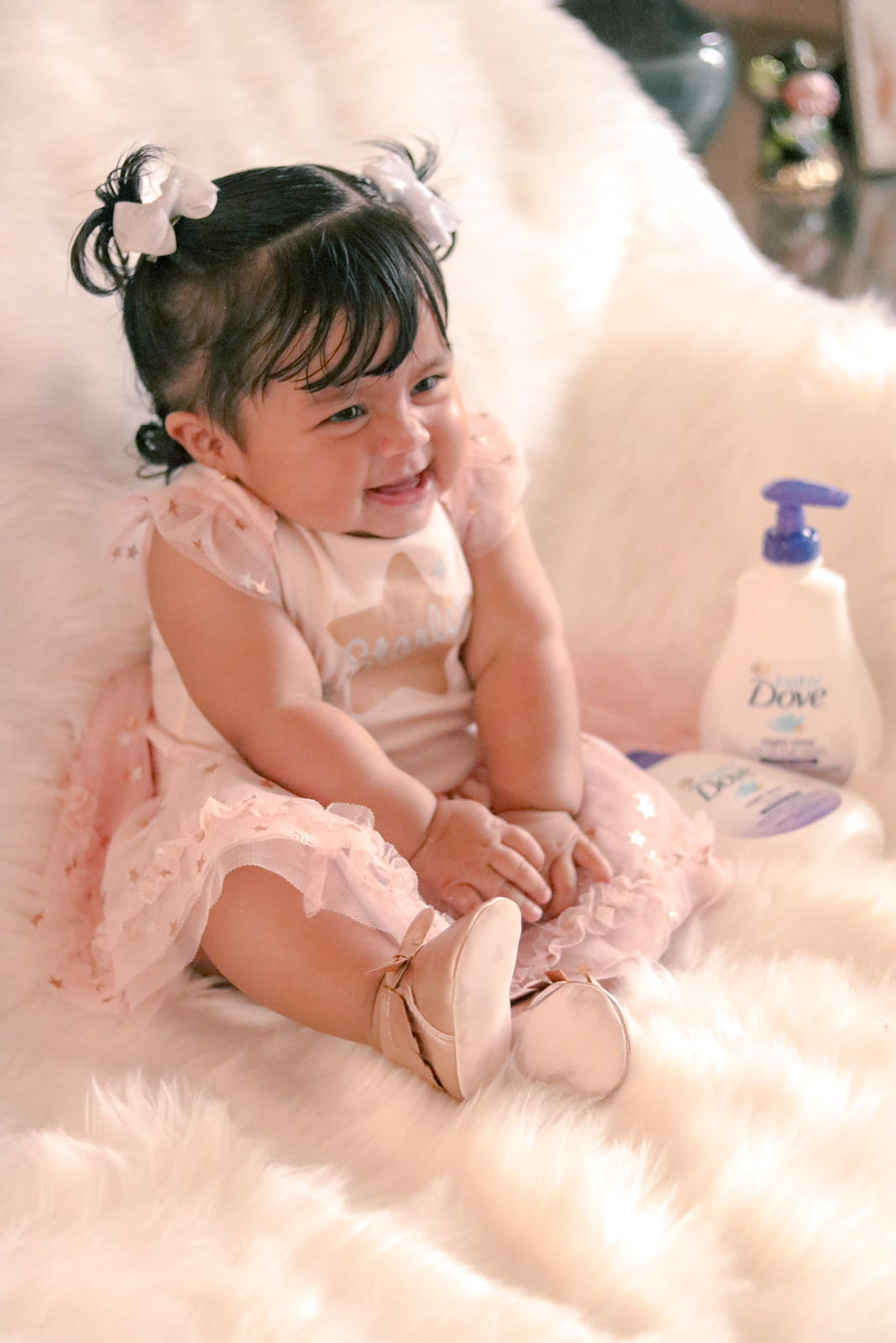 Baby Sleep Time Routine with Baby Dove Calming Nights #BabyDoveLove