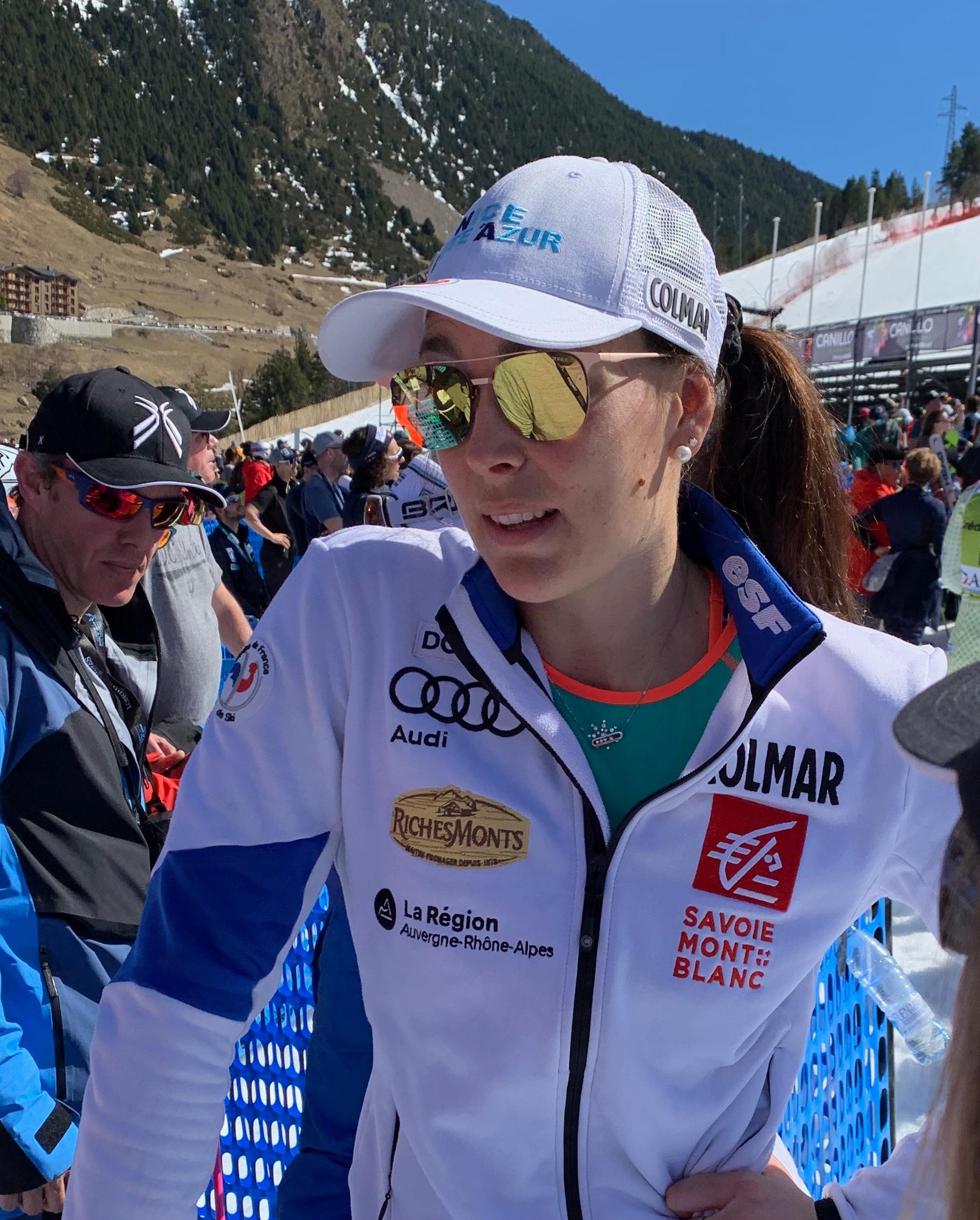 Nastasia Noens - Foto Hablamos de esquí