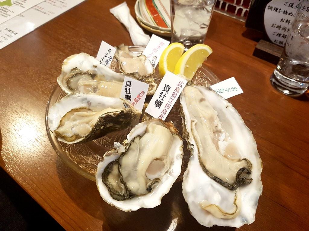 Von langen bis kurzen Austern (Kaki), es gibt viele verschiedene Arten