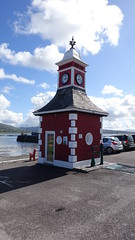 Clock Tower in Knightstown harbour, Valentia Island