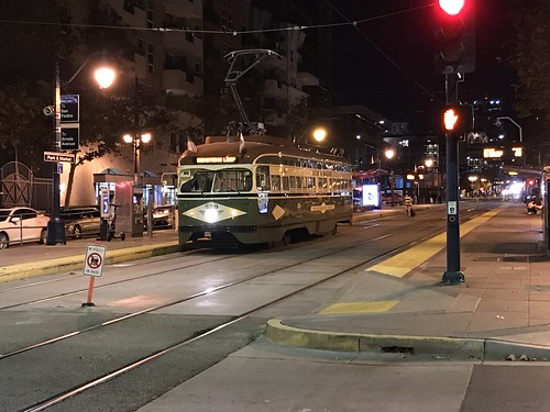 Historic Streetcar in San Diego