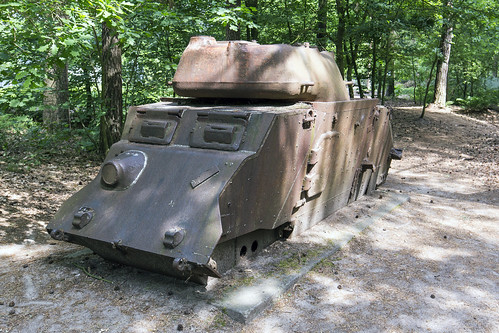 T17E1 Staghound bunker