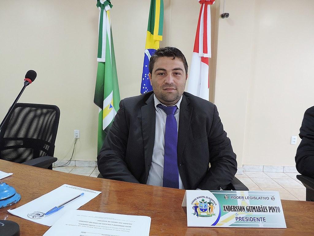 Vereador destituído da presidência da Câmara  vence disputa pela 3ª vez, Anderson Guimarães, de Rurópolis