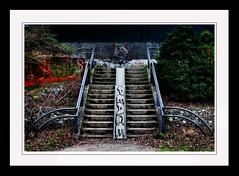 L'escalier : Si on considère que le graffiti salit les murs, alors les panneaux publicitaires souillent les murs.