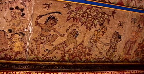 INDONESIEN, Bali , Kungklung - Taman Gili und Kerta Gosa (Park und Gerichtsgebäude) , 18035/11274