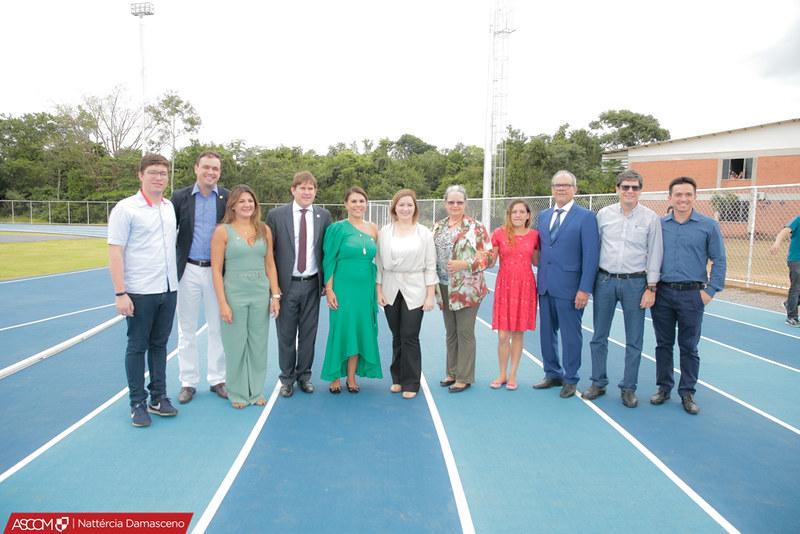 Inauguração da Pista de Atletismo