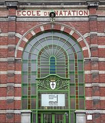 Façade de l'Institut du monde arabe à Tourcoing