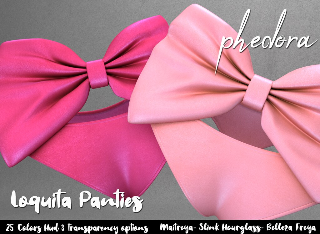"Phedora. for Frou Frou Event powered by Flair For Events ~ ""Loquita"" Panties ♥"