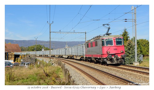 Re 420 503 Travys - Busswil
