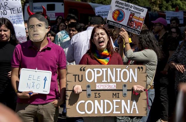 #PersonaNonGrata | Visita de Bolsonaro provoca três dias de protestos no Chile