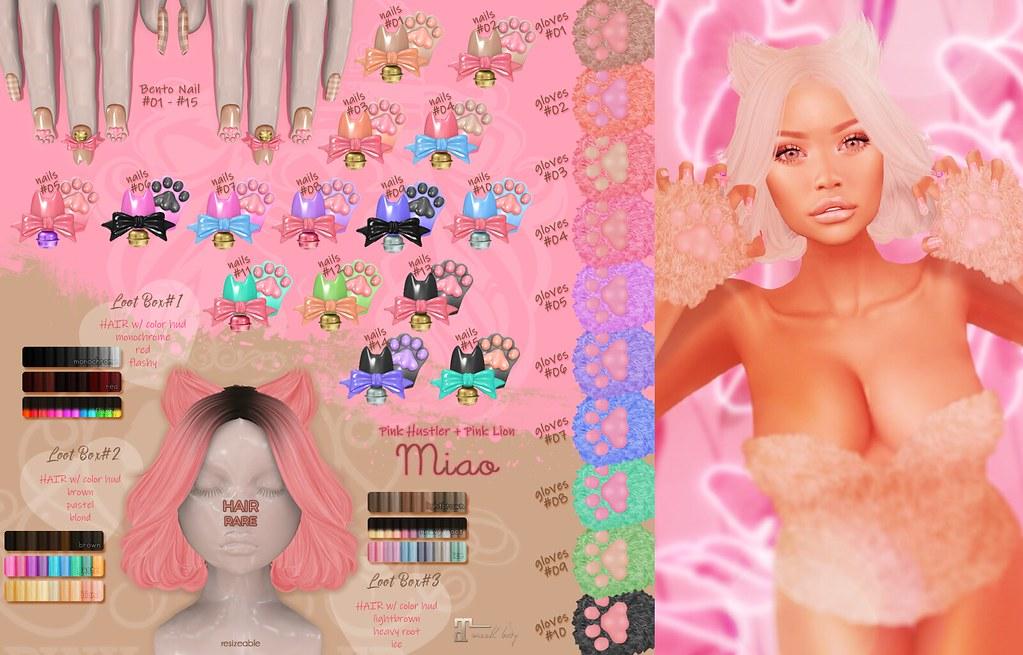 hair+nail gacha ♥ Miao - TeleportHub.com Live!