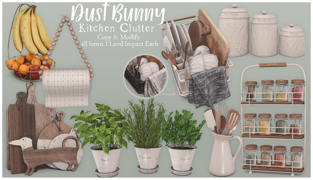 dust bunny kitchen clutter @ mainstore