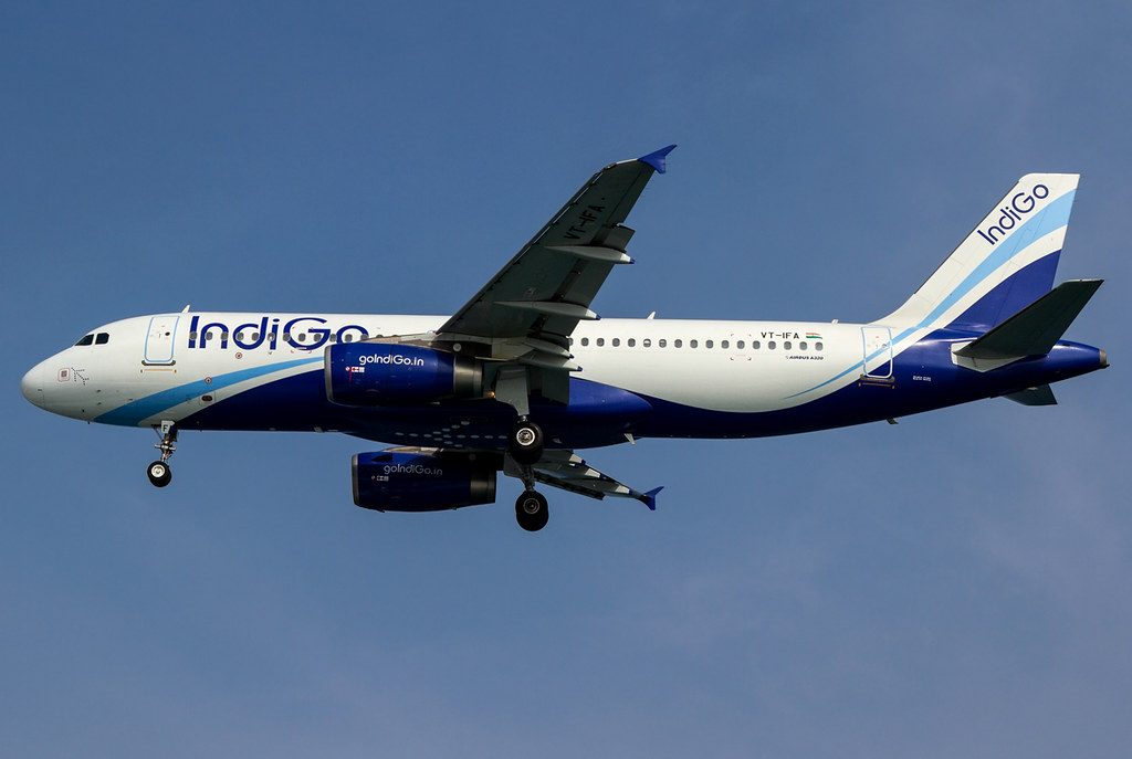 Short final for RWY36 inbound from Mumbai BOM. Delivered 08/2012.