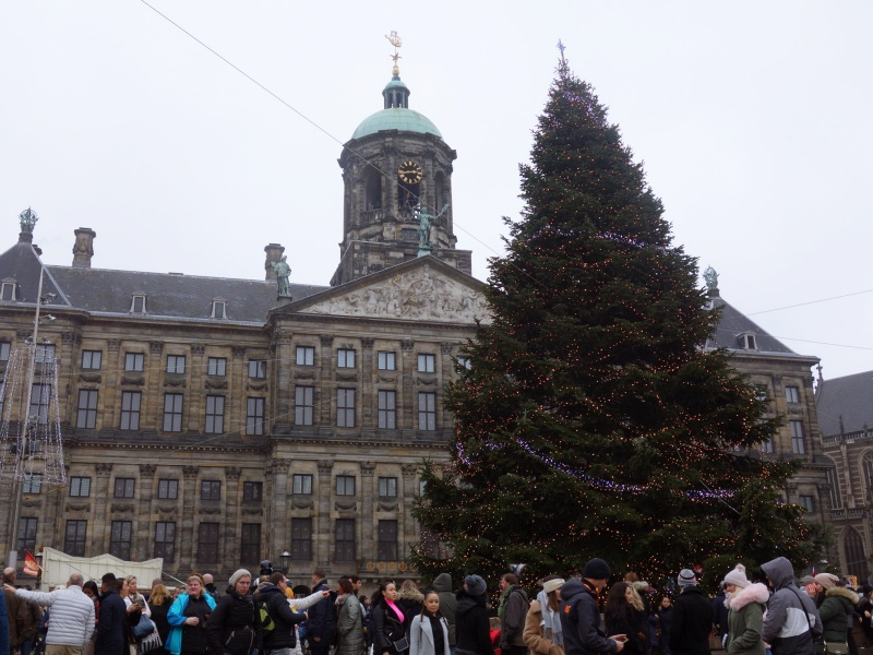 Dam Square Christmas tree