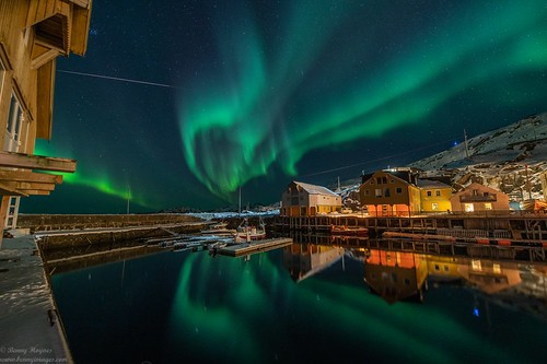 Magical Auroras in Colorful Vesterålen, Norway