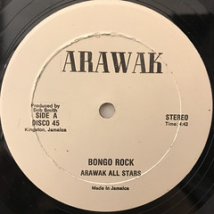 ARAWAK ALL STARS:BONGO ROCK(LABEL SIDE-A)