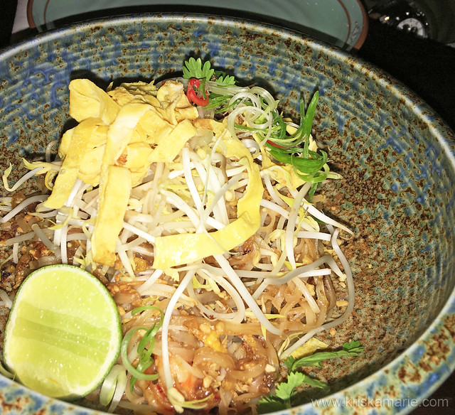 Shrimps Pad Thai from Bambooda